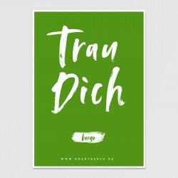 Postkarte (grün)